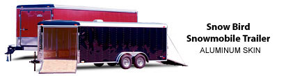 Snow Bird Snowmobile Trailer