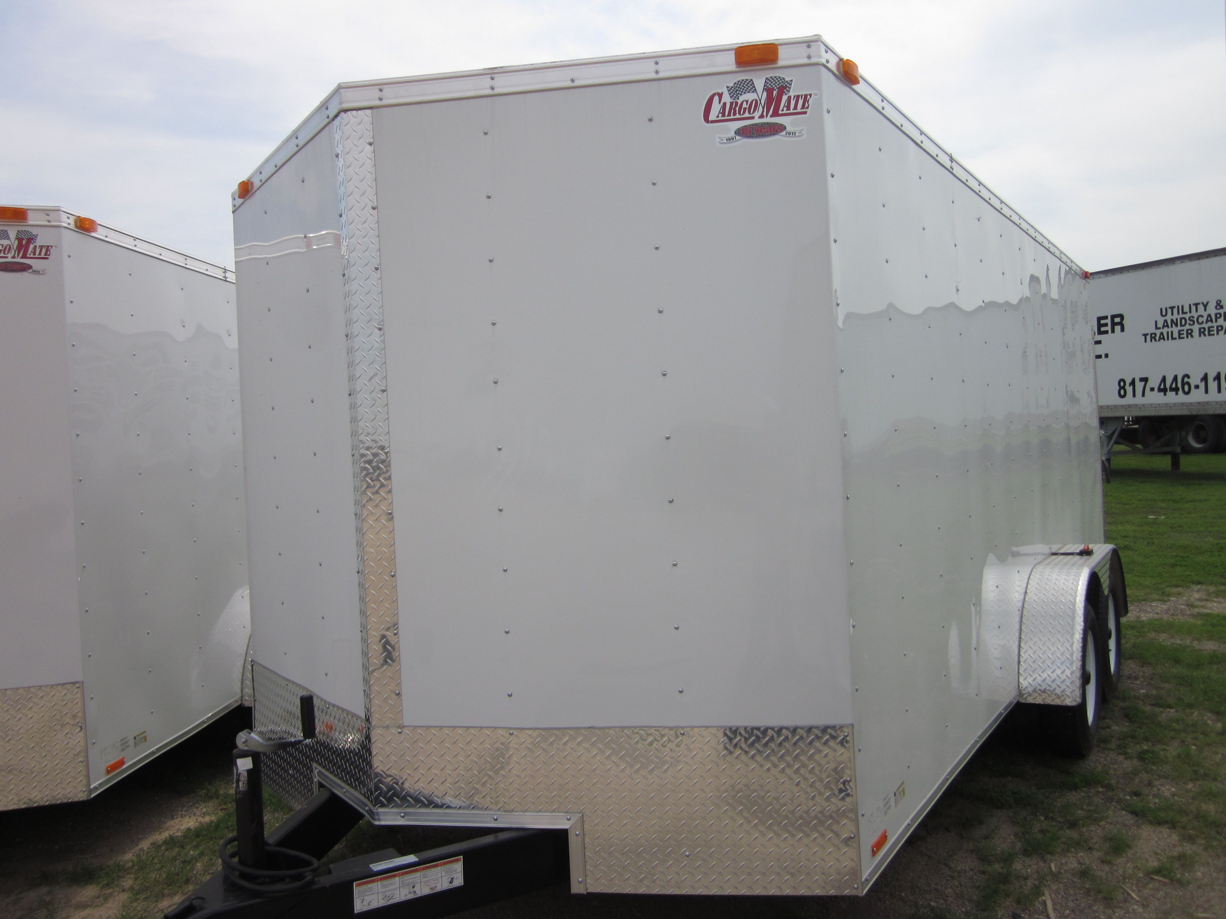 18' Tandem Axle Trailer http://www.worthtrailer.com/2013-enclosed-18-tandem-axle-trailer
