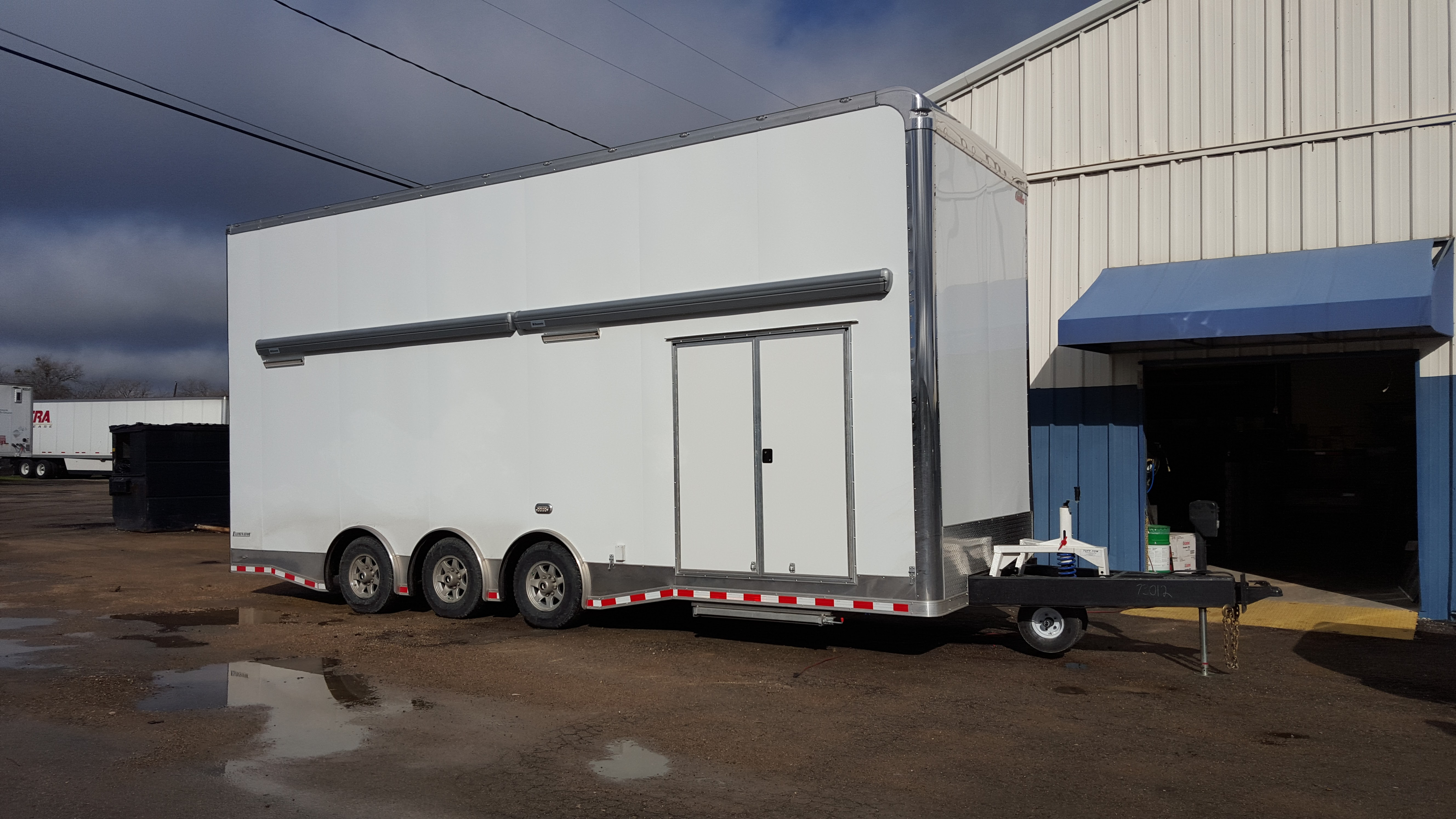 Stacker Trailer For Sale >> Stacker Trailers Enclosed Utility Cargo Car Race Car