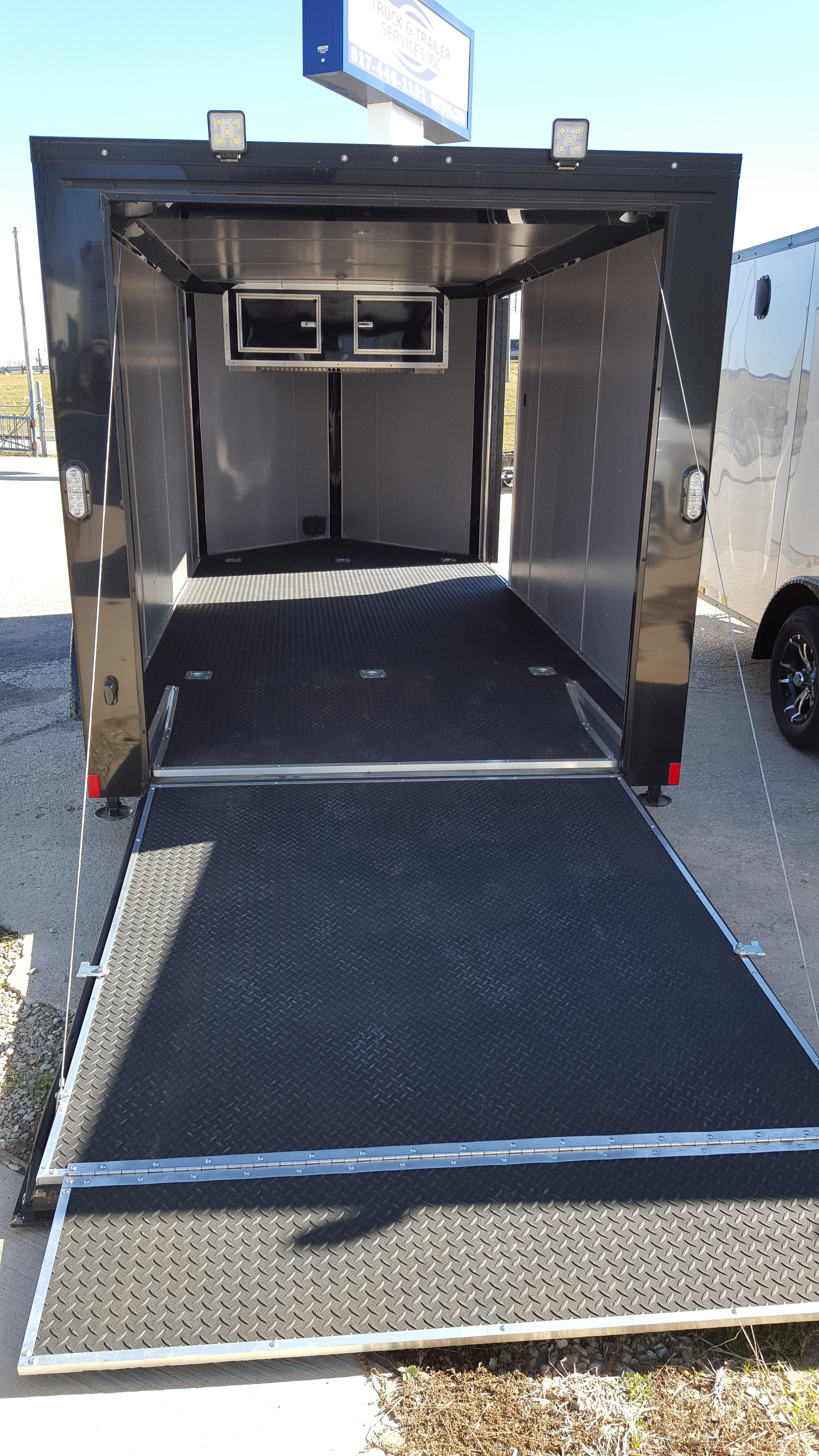 Big Sale 7 X 14 Motorcycle Trailer St Sold Enclosed Utility