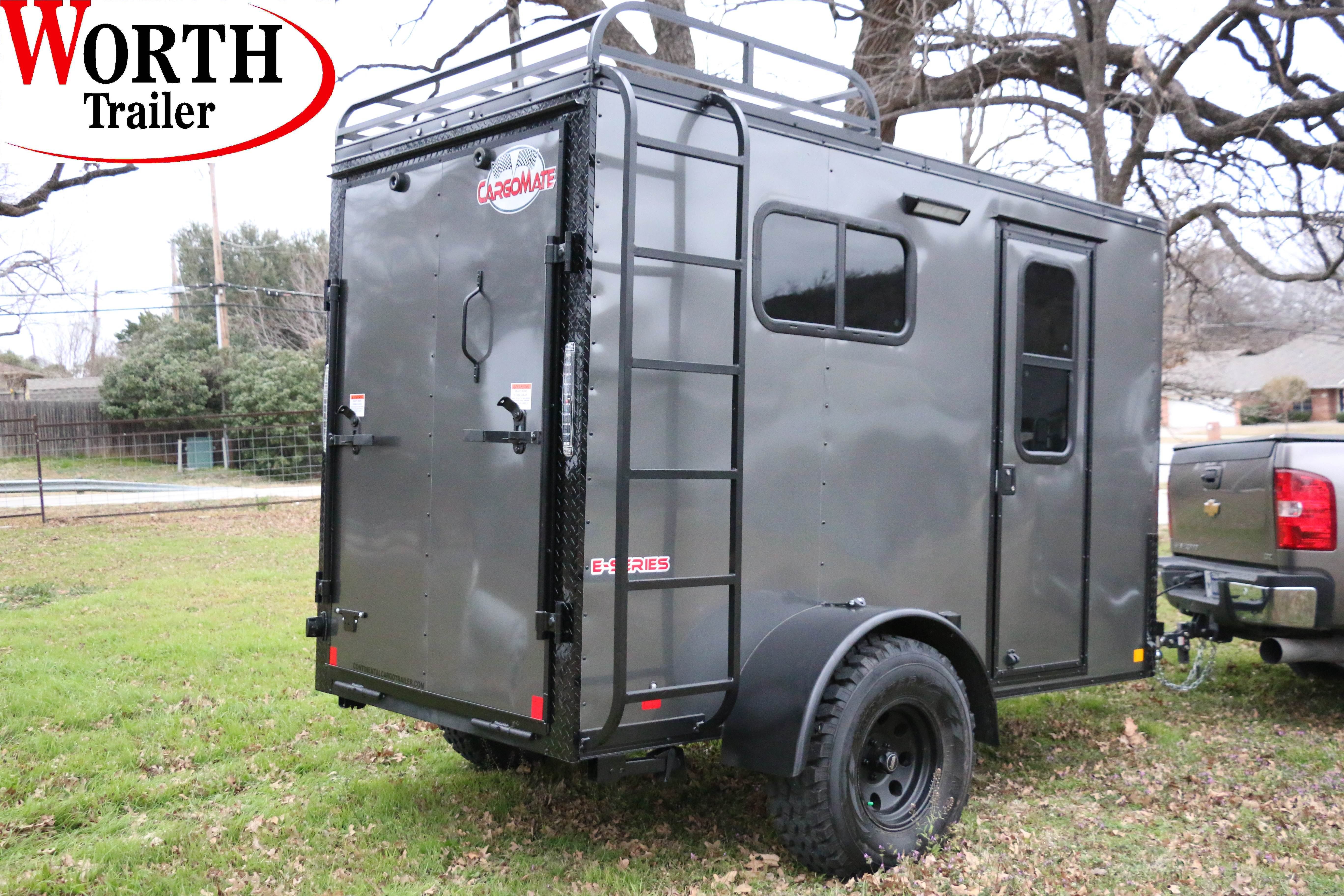 9x9 Off Road Camping Trailer ST# SOLD  Enclosed, Utility, Cargo